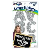 Buy cheap Silver Glitter Letters Stickers from wholesalers