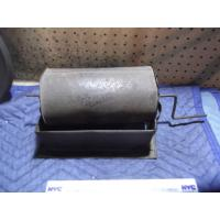 China Steel hand cranked coffee roaster, with base. For wood stove use c.1840-1900 on sale