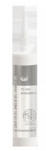 Quality Sealant FD-666 mirror antimould silicone weatherproof adhesive (E9000) for sale