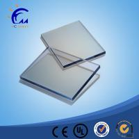 China clear 2mm frosted polycarbonate solid pc matte sheet for office chair mat on sale