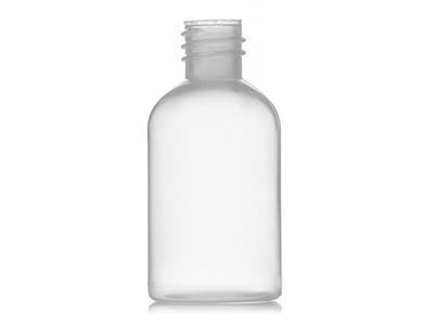 Quality 1oz natural-colored LDPE plastic boston rond bottles with 2.7cm neck finish for sale