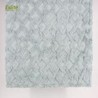 China Silver Foil printed quilted PV mink fur blanket on sale