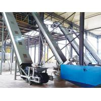 Buy cheap Large angle belt conveyor from wholesalers