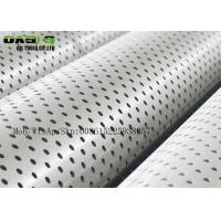 Buy cheap API 5CT N80 Galvanized Surface Carbon Perforated Casing&tubing Pipe from wholesalers