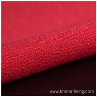 Buy cheap Colorful Double dot coating woven fusible interlining from wholesalers