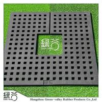 China Recycled Rubber Tree Ring Patio Pavers for Garden on sale