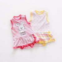 Wholesale Wholesale 100% Cotton Baby Bodysuit Babygirls Onesie from china suppliers