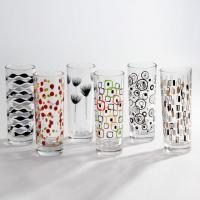 Buy cheap Customized Print Glass Tumbler for Drinking from wholesalers