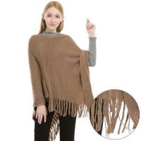 Buy cheap Cashmere Feel Poncho Sweater from wholesalers