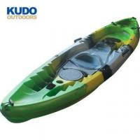Buy cheap Hot Competitive Price Canoe Sit On Top Fishing Motor Kayak With Electric Trolling Motor from wholesalers