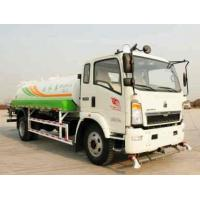 Wholesale 10 cubic meter SINOTRUK HOWO 4X2 water truck from china suppliers