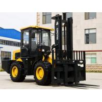 Wholesale 5T Rough terrain AWD Articulated forklift CPCY50 from china suppliers