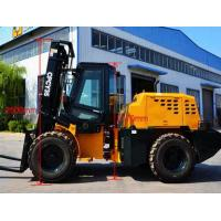 Wholesale 3.5T Rough terrain AWD Articulated forklift CPCY35 from china suppliers