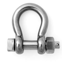 Buy cheap HDG Forged Carbon Steel G209 Screw Pin Bow Shackle from wholesalers