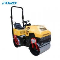Buy cheap Mini Gasoline Engine Hydraulic Electric Road Roller from wholesalers