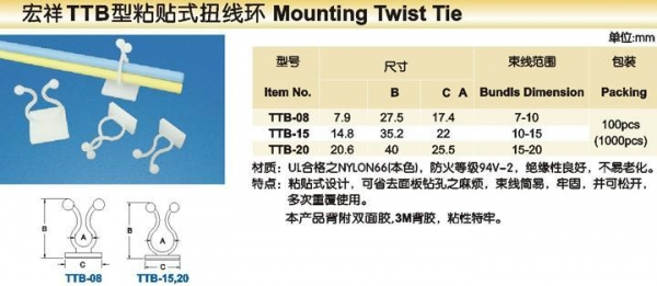 Quality Mounting Twist tie for sale