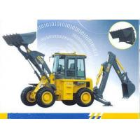 Wholesale 65kw Engine Loading Bucket 1.0 CBM Tractor Loader Backhoe With 9500 Kg Operating Weight from china suppliers