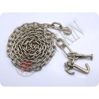 """Wholesale G70 5/16""""x4' Chain with Grab Hook on One End; R,T & Mini J Hooks on the Other End KTC018 from china suppliers"""