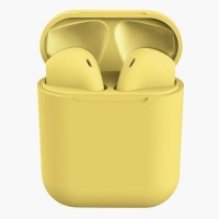 Buy cheap Original Inpods 12 TWS 5.0 Wireless Bluetooth Headphones Yellow from wholesalers