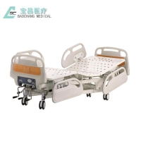 Buy cheap Manual 3 Cranks Medical Bed from wholesalers