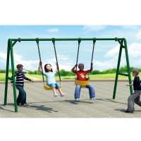 Buy cheap Playground Park Swings with many Available Color from wholesalers