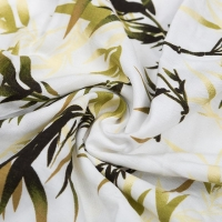Wholesale China abstract design viscose staple fibre and elastane fabric digital print from china suppliers