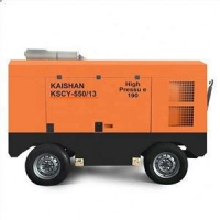 China Kaishan KSCY-550/13 Diesel Driven Portable Screw Air Compressor on sale