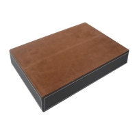 Wholesale Office Desk Leather Velvet Tray Organizer with Multi Compartment $5.38 to $6.95 from china suppliers