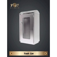 Buy cheap Single-Type Trash Can Series Stainless steel Trash Can from wholesalers