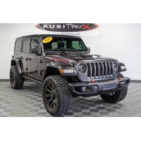 Buy cheap Pre-Owned 2019 Jeep Wrangler Unlimited Rubicon JL Granite Crystal from wholesalers