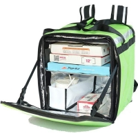 Buy cheap Foldable insulated takeaway thermal cooler food delivery bag for bike and office from wholesalers