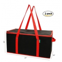 Buy cheap Reusable Portable Insulated Cooler Food Delivery Bags Thermal Catering Tote Bags from wholesalers