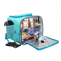 Buy cheap UV Sanitizer Bag UV Cleaner Sterilizer Bag Portable Disinfection Backpack for food delivery from wholesalers