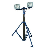 Buy cheap 300W Metal halide Lamps mounted pneumatic telescopic mast lighting tower from wholesalers