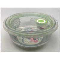 microwave round bowl with buckle