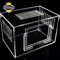 Wholesale JINBAO Acrylic Plastic Cosmetic Organizer Drawers Holder Clear Acrylic Make Up Organizer from china suppliers