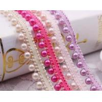 Buy cheap handmade beads lace for garment fashion trend from wholesalers