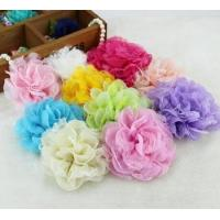 Buy cheap handmade flowers chiffon flowers for garment in fashion trend from wholesalers