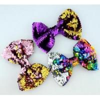 Buy cheap Handmade sequin bows for garment hair band from wholesalers