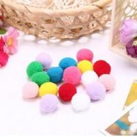 Buy cheap fashion trend pom poms for garment and toys from wholesalers