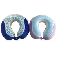 Buy cheap Cool gel memory foam neck pillow from wholesalers