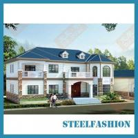 Wholesale 450qsm modern metal building homes from china suppliers