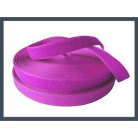 Conventional Hook and Loop china manufacture made high quality nylon hook and loop,purple