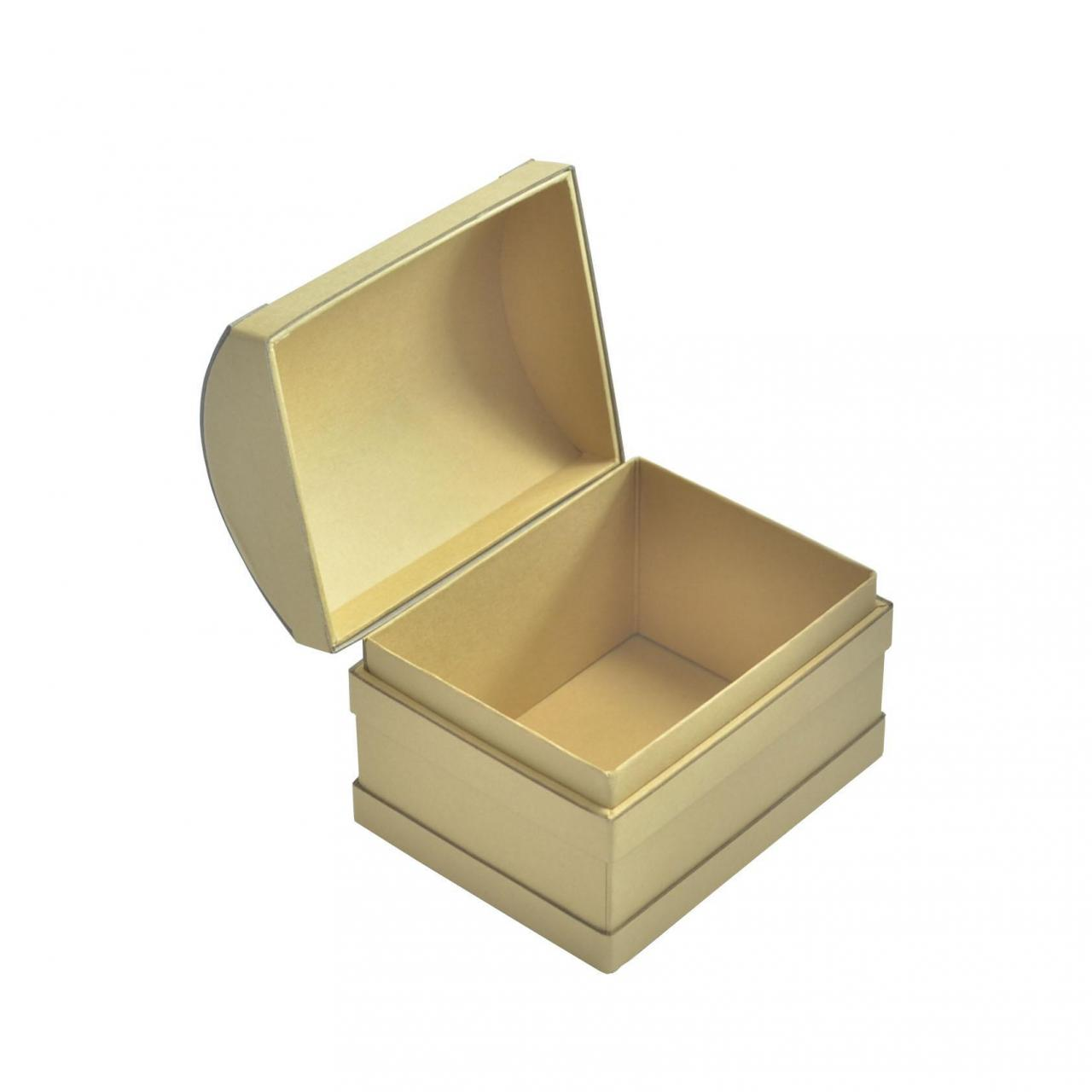 Wholesale Kraft Paperboard Treasure Chest Gift Box For Storage Custom Design from china suppliers