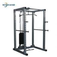 Buy cheap Gym cross fit equipment training adjustable power cage from wholesalers