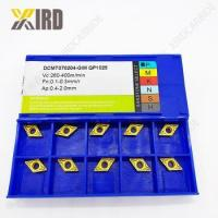 Buy cheap Cnc turning tool tungsten carbide insert DCMT11T308 for cnc lathe from wholesalers
