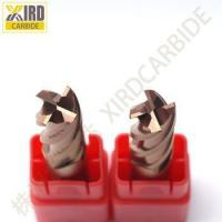 Buy cheap xird Tungsten Cutting Tools 4 flutes R end mills for HRC50 from wholesalers