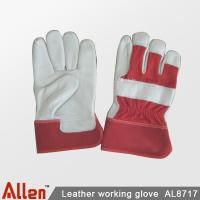 Winter work gloves | Guantes tela tipo loneta con carnaza