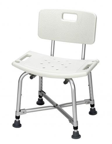 Quality High Quality Height Adjustable Shower Chair Bath Stool With Backrest for sale