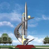 Wholesale Decorative Items Abstract Stainless Steel Sculptures Outdoor from china suppliers